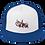 Thumbnail: 11|Eleven Street Logo Flat Bill Trucker Cap