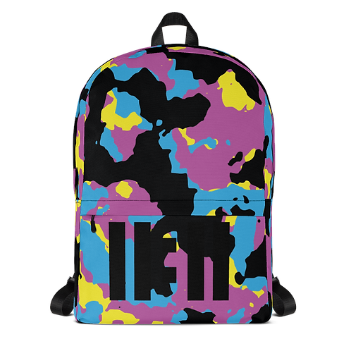11|Eleven CYMK Black Camo Backpack