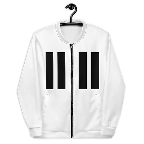 11|Eleven Black Logo Bomber Jacket