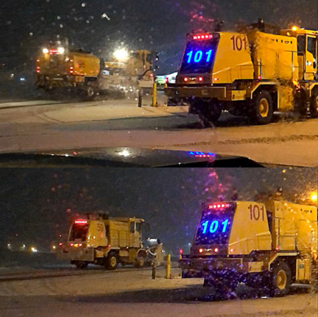 Denver Airport LED Numbers on Snowplows.png