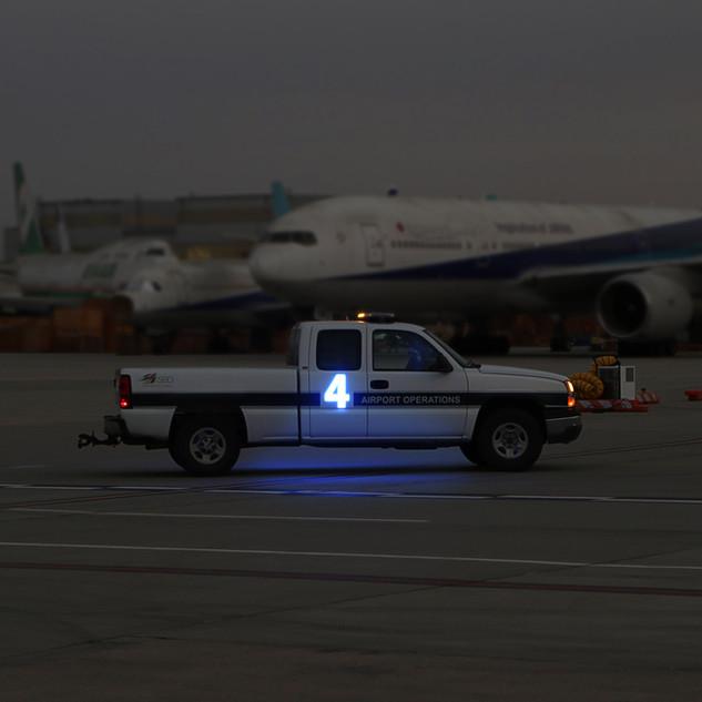 LED Car Number