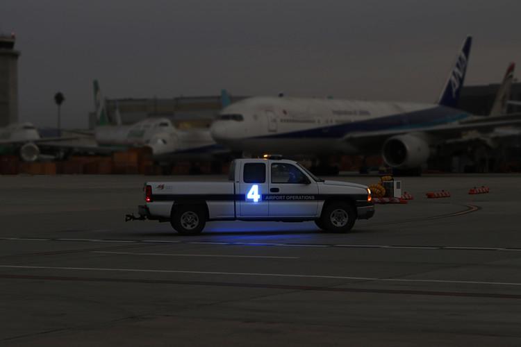 LED Airport Car Number