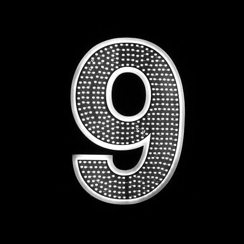 """16"""" Number Nine (9)"""
