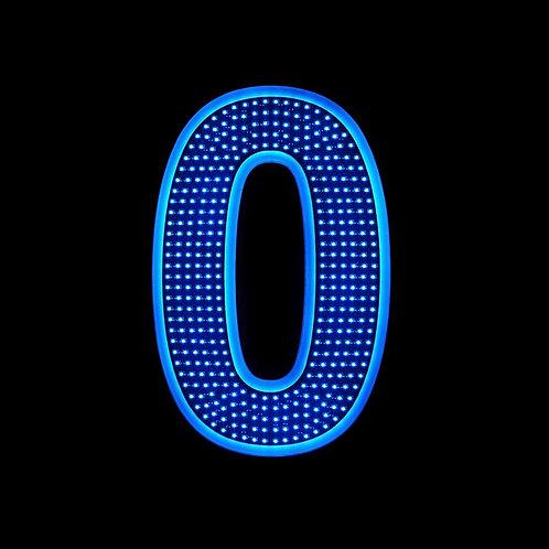 """16"""" Number Zero (0)"""