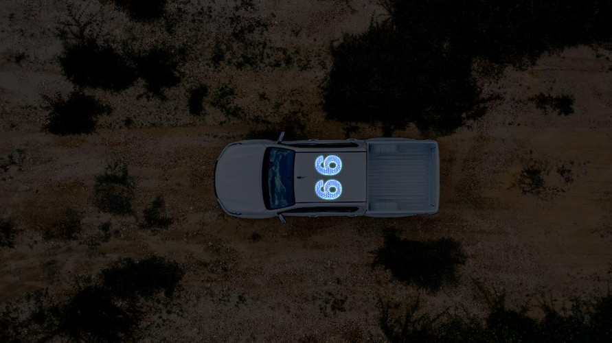 AirelXL lit vehicle numbers