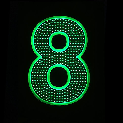 """16"""" Number Eight (8)"""