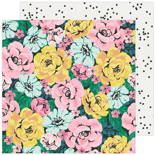 Maggie Holmes Garden Party Freshly Picked patterned paper sheet