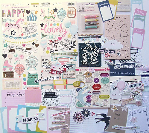 Sea Of Love Quirky Kit Embelishments