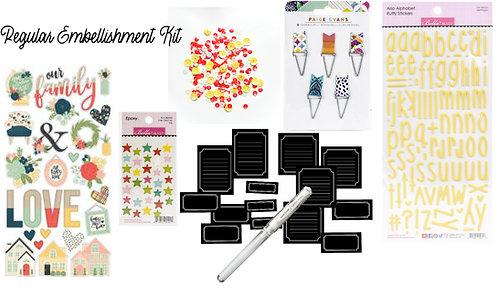 Regular Edition November/December Quirky Kit Embellishments kit
