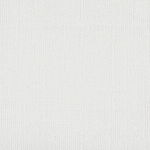 Bazzill White Canvas Texture Cardstock