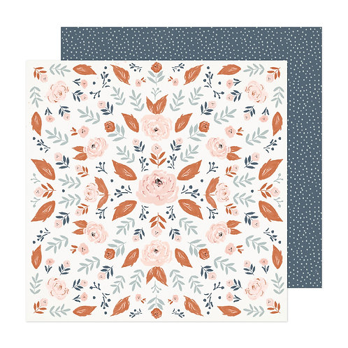 Crate Paper Fresh Bouquet Wild Rose Patterned Paper