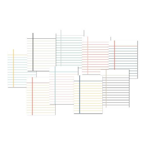 Lined Journalling Cards Set