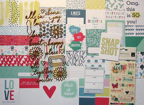 Allsorts Quirky Kit Custom Cards Kit
