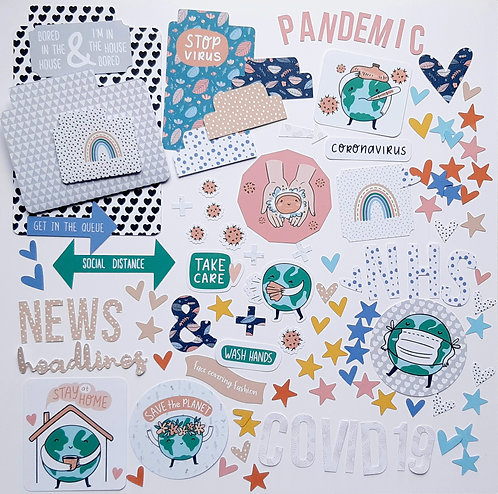 Pandemic Die Cuts Pack
