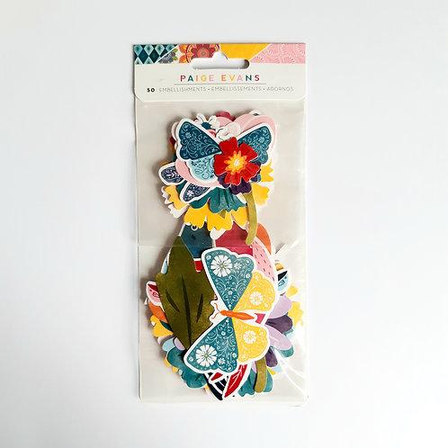 Paige Evans Wonders Floral Ephemera Pack