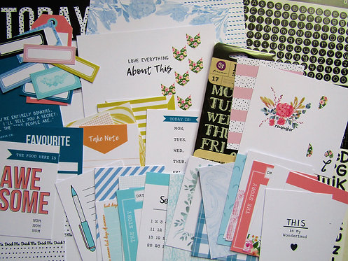 Looking Glass Quirky Kit Custom Cards