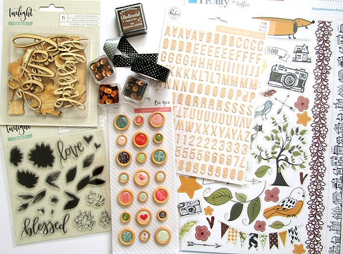 Lights, Camera.....Quirky Kit Embellishments Kit