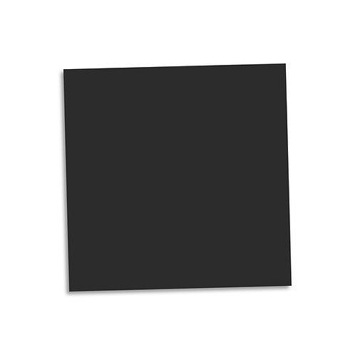 """Black smooth cardstock sheet 12""""x12"""""""