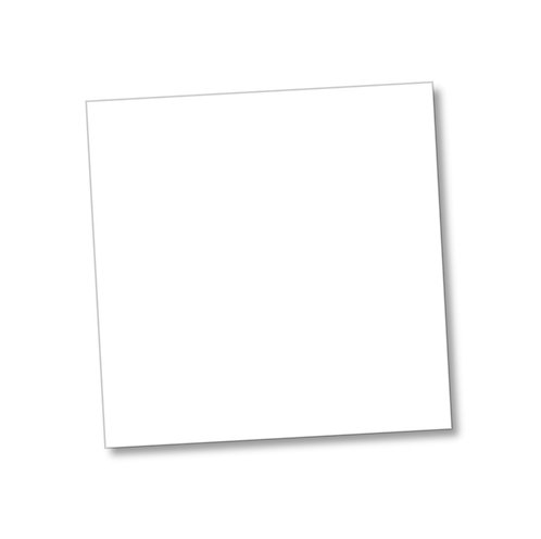 "White Smooth 300gsm 12""x12"" cardstock Sheet"