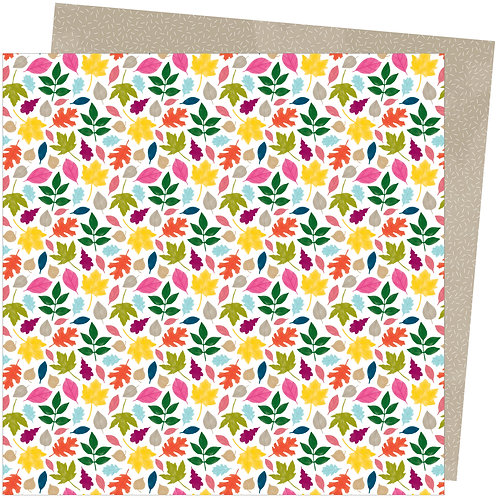 "Amy Tangerine A Slice of Life - Falling For You 12""x12""Patterned Paper She"