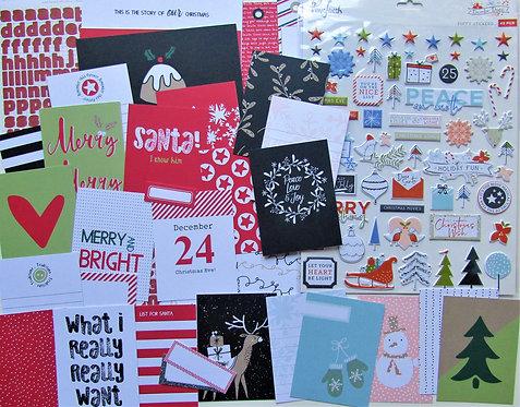 Snow Hugs Quirky Custom Card Kit Christmas Edition