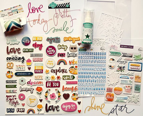 Quirky Kit Embellishments - July/August 2019 kit