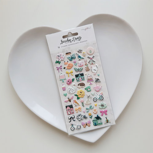 Maggie Holmes Garden Party Puffy Stickers Pack