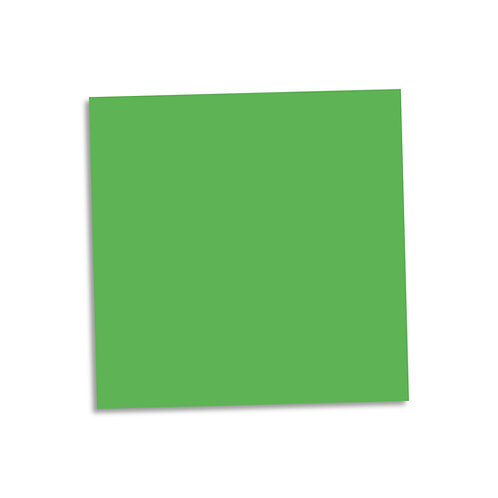 "Green smooth cardstock sheet 12""x12"""