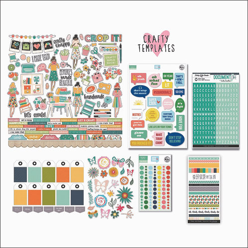 Jan/Feb 2020 Quirky Kit Embellishments Subscription