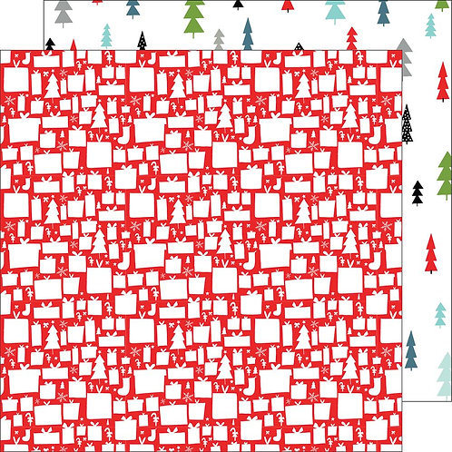 Pinkfresh Studio Oh Joy - Joyful Christmas patterned paper