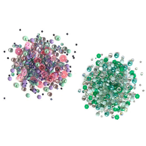 Pack of Sparkletz mixed gem/sequin embellishments