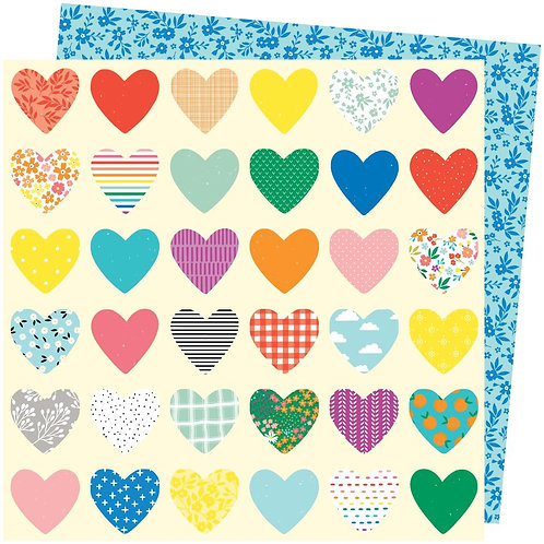 Amy Tan Picnic In The Park Patterned Paper Sheet - Whole Lotta Love