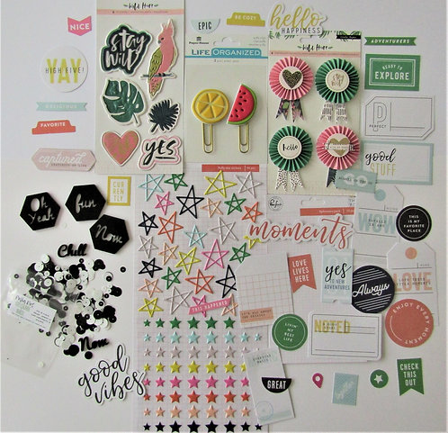 Mai Tai Quirky Kit Embellishment Kit