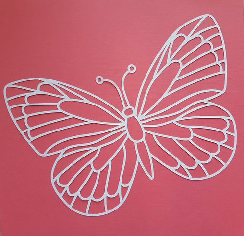 Butterfly Pre-cut cut file by Paige Evans