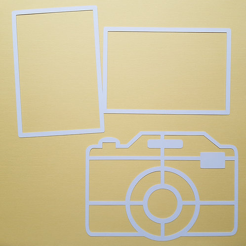 Camera and Frames Cut Out