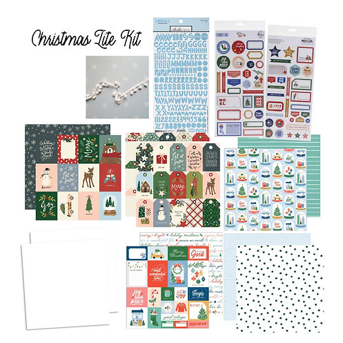 Christmas Edition November/December Quirky Kit Lite