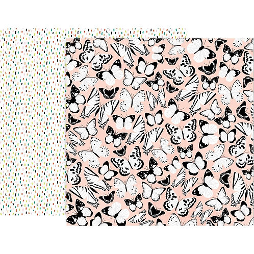 5th and Monaco Double-Sided Patterned Paper Sheet #4
