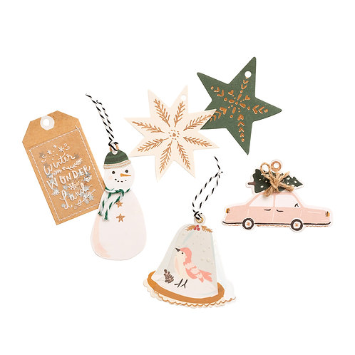 Crate Paper Layered Tags Embellishments Pack
