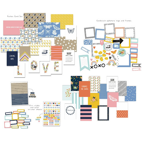 Heart and Soul Custom Cards Quirky Kit May/June 2020