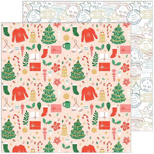 Pinkfresh Studio Oh What Fun Season of Joy Patterned Paper