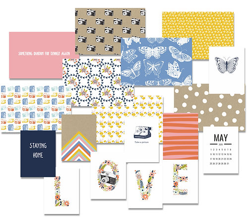 Heart and Soul Custom Cards - pocket scrapbooking cards set for May/June 2020