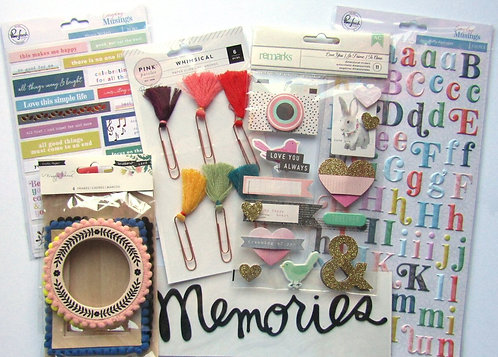 Bon Bons Quirky Kit Embellishment Kit