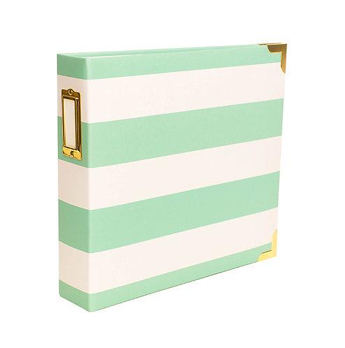 8x8 Stripe Album and Page Protectors Bundle