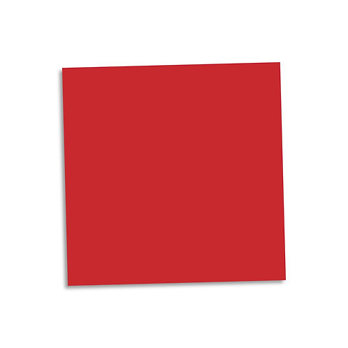 """Red smooth cardstock sheet 12""""x12"""""""