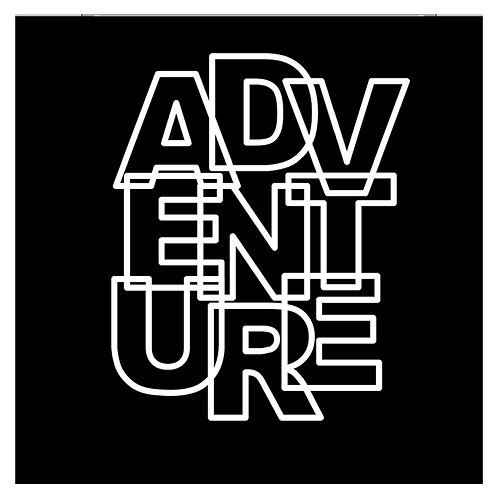 Adventure by Paige Evans Title Cut Out