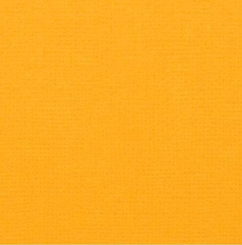 "12""x12"" textured cardstock sheet - Mustard"