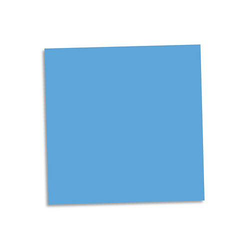"""Bright Blue smooth cardstock sheet 12""""x12"""""""