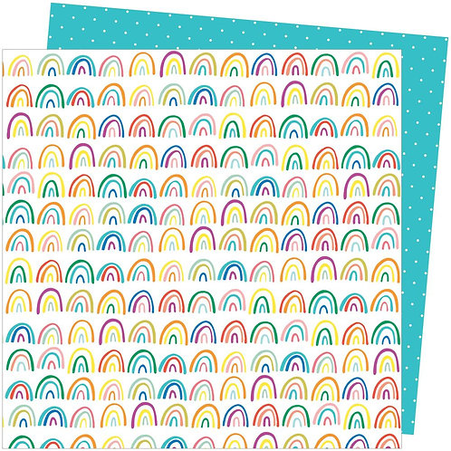 Amy Tan Picnic In The Park Patterned Paper Sheet - All the Colours