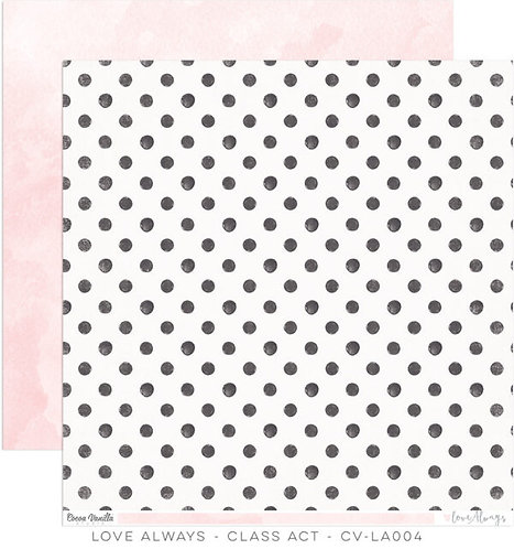 Cocoa Vanilla Love Always Class Act paper sheet