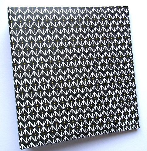 Project Life Black Patterned 6x8 binder